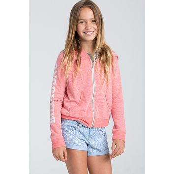 Billabong Girls - Sunshine Day Zip | Hibiscus