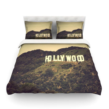 "Catherine McDonald ""Hollywood"" Featherweight Duvet Cover"