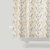 Willow Branches Shower Curtain