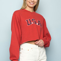 Nancy USA Sweatshirt - Graphics