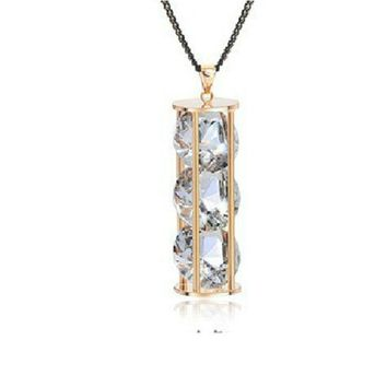 Hourglass of Crystal Necklace