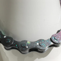 Galaxy Bike Chain Bracelet - unique gift for her, cool, for men, dad, boyfriend, gifts for teens, husband, father's day