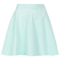 Mint Baby Cord Skater Skirt - Skirts - New In This Week  - New In
