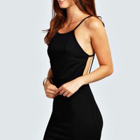 Lizzie Back Detail Bodycon Dress