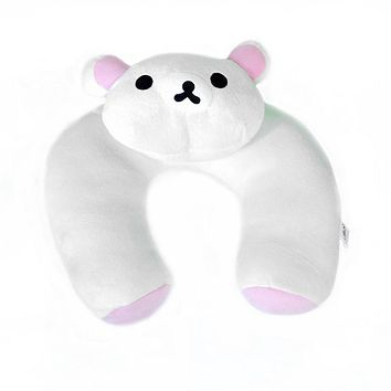 [Snow Bear] Neck Cushion / Neck Pad  (12 by 12 inches)
