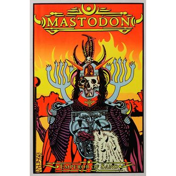 Mastodon Blacklight Poster