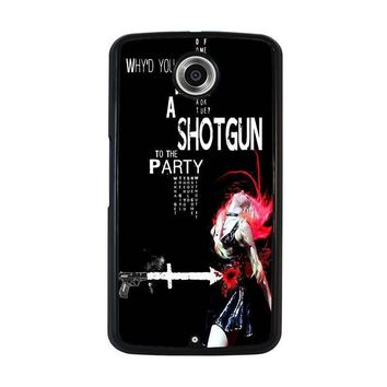 the pretty reckless quotes nexus 6 case cover  number 1