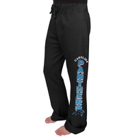 Carolina Panthers Junk Food Women's Boyfriend Fleece Pant - Black