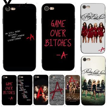 Yinuoda For iphone 7 6 X Case Pretty Little Liars tv Leading Phone Case for iPhone X 8 7 6 6S Plus X 5 XS XR Cases
