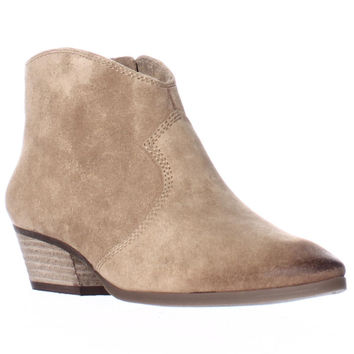 Vince Camuto Cider Western Ankle Booties - Coyote