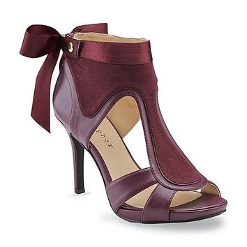 Metaphor Women's Sweetpea Red Wine High-Heel Dress Shoe