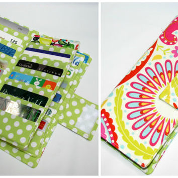 Credit Card Organizer Wallet, Gift Card Holder, Loyalty Card Organizer, women's wallet 38 Card Organizer, Sanjay Pink Business Card wallet