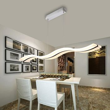 Modern Acrylic LED Home Lighting For Dining Room