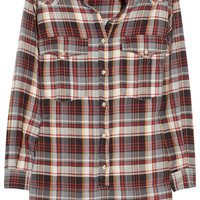 Étoile Isabel Marant | Madoc oversized cotton plaid shirt | NET-A-PORTER.COM
