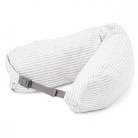 Well-Fitted Neck Cushion Gray White