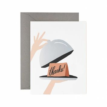 Hostess Greeting Card by RIFLE PAPER Co.   Made in USA