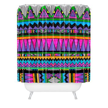 Kris Tate Cotzal 2 Shower Curtain
