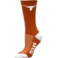 Texas Longhorns Women's Vertical Stripe Quarter-Length Socks – Burnt Orange
