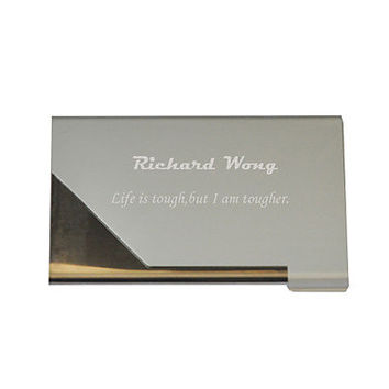 Personalized Professional Business Card Holder Engraved for Free, Graduation Gift, New Job, New Business