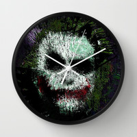 The Joker Wall Clock by brett66