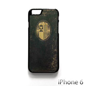 Destiny Ghost Edition Book for Iphone 4/4S Iphone 5/5S/5C Iphone 6/6S/6S Plus/6 Plus Phone case