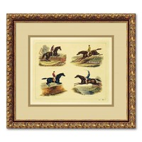 ''Equestrian Leaps'' Framed Wall Art
