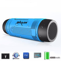 Outdoor Waterproof Bluetooth Speaker With LEDs
