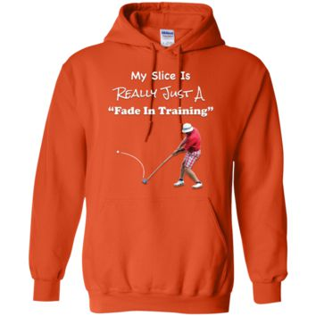 Golf Fade In Training Pullover Hoodie 8 oz