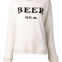 The Elder Statesman 'Beer' sweater