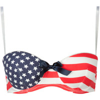 Americana Bra Red Combo  In Sizes