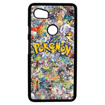 Pokemon All Character Google Pixel 2XL Case