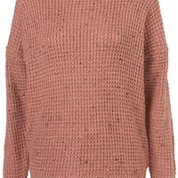 Knitted Nep Textured Jumper - Sale  - Sale & Offers