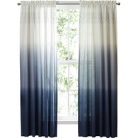 Wilkinson Ombre Pinch Pleat Single Curtain Panel & Reviews | Joss & Main