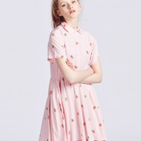 Lazy Oaf Mini Strawberry Dress - Everything - Categories - Womens