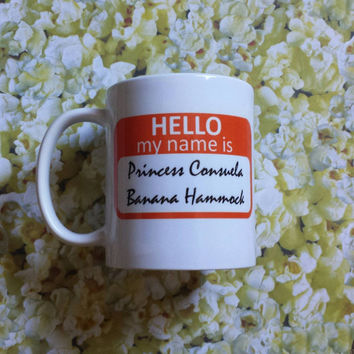 friends tv show coffee mug princess consuela banana hammock