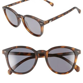 Le Specs 'Bandwagon' 51mm Polarized Retro Sunglasses | Nordstrom