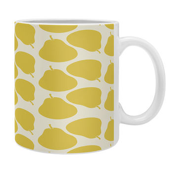 Allyson Johnson Pear Pattern Coffee Mug