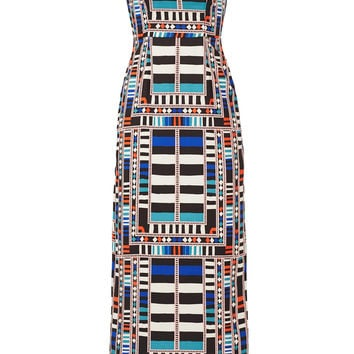 Mara Hoffman Cut Out Column Maxi