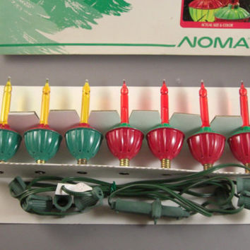 7 Vintage Christmas Bubble Lights // Never Used // in Original Box // from UBlinkItsGone