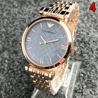"""""""Emporio Armani"""" Fashionable Lovers Simple Movement Watch Wristwatch"""