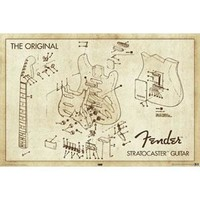 Fender Domestic Poster