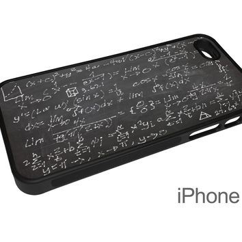 Chalkboard Math Equation Cell Phone Case for iPhone and Samsung Phones