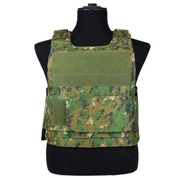 Brand Tactical Camouflage Vests CS Military Combat Vests Hunt Shooting SWAT Police Vest Sleeveless Protective Clothing Unisex