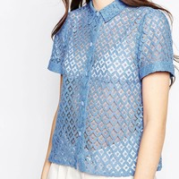 Hedonia Jolie Lace Blouse