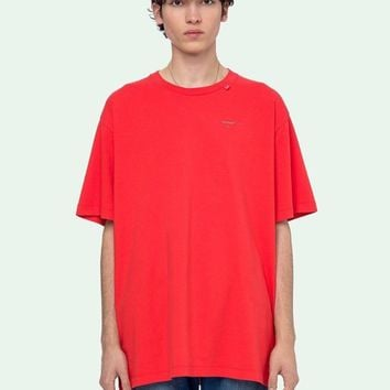 HCXX 19July 465 off-white Cotton Comfortable Casual t-shirts 3M Reflective for men and women