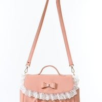 Lace & Ribbon 2 WAY shoulder BAG