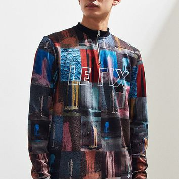 Le Fix Splatter Zip Sweater | Urban Outfitters