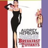 Audrey Hepburn - Breakfast At Tiffany's Tin Sign Dorm Decor Vintage Cheap Wall Decorations Girls