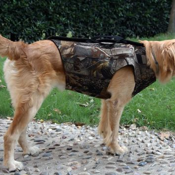 GUGULUZA High Quality Dog Hunting Neoprene Safety Vest Dog Parka Camoflauge Duck Hunting waterfowl