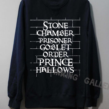 Stone Chamber Prisoner Shirt Harry Potter Shirt Sweatshirt Sweater Unisex - Size S M L